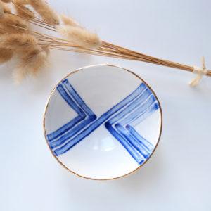 Bol Bleu Cobalt 8