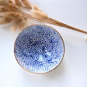 Bol Bleu Cobalt 4